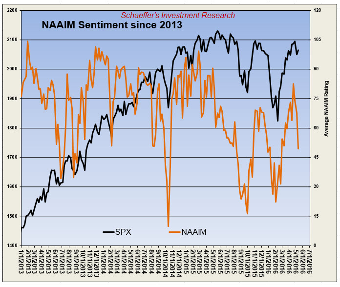 NAAIM Sentiment May 12
