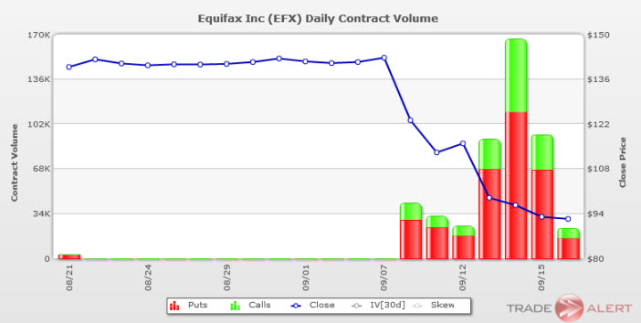 equifax options volume