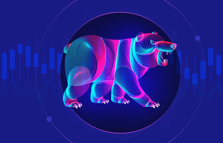 Bearish outlook, bearish, sell off, bearish market, downtrend