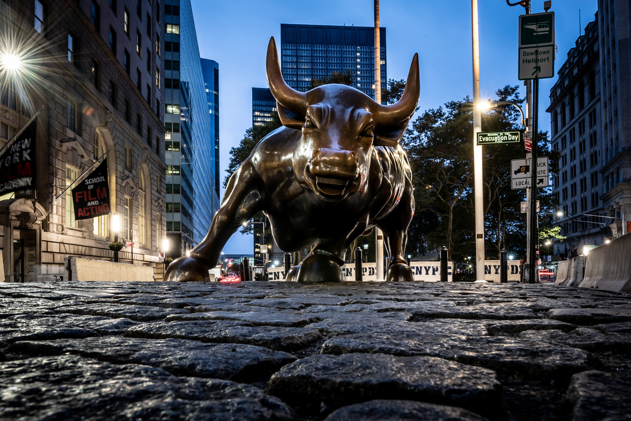 Wall Street Bull After Hours