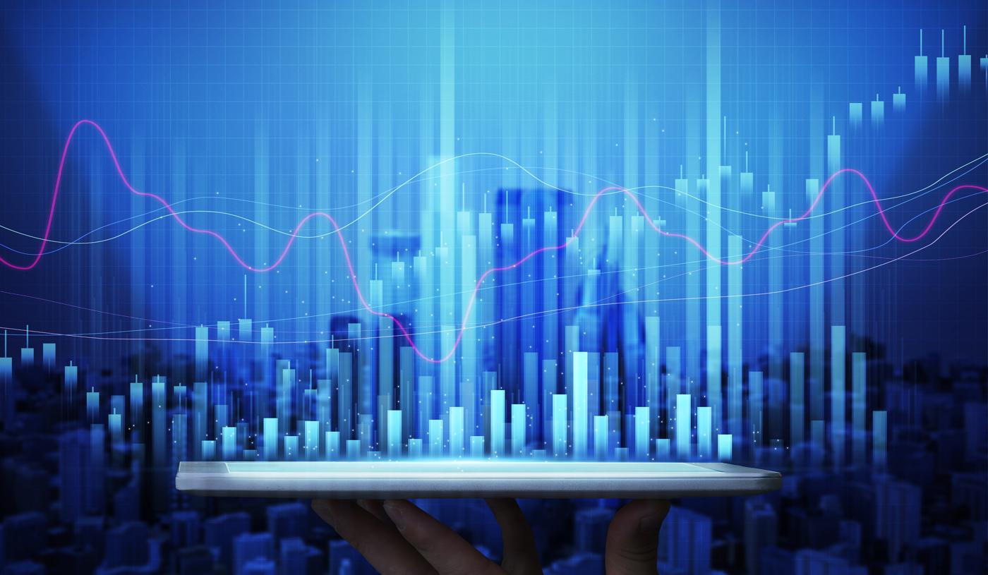 Stock price chart, stock chart, stock price action chart