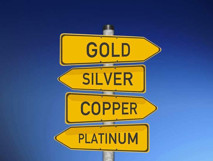 Trading precious metals ETFs