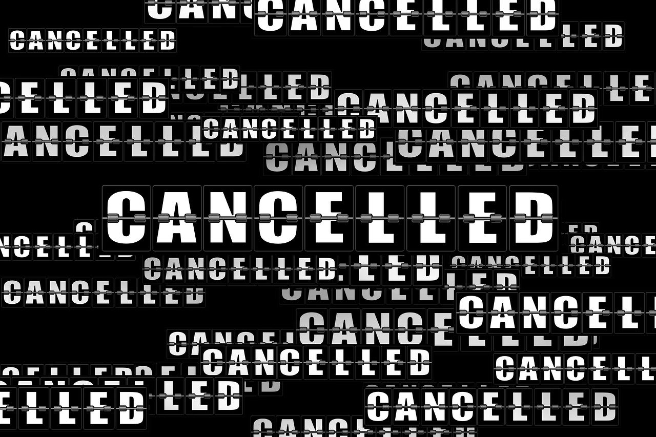 Cancellations and closings due to COVID-19 / Coronavirus