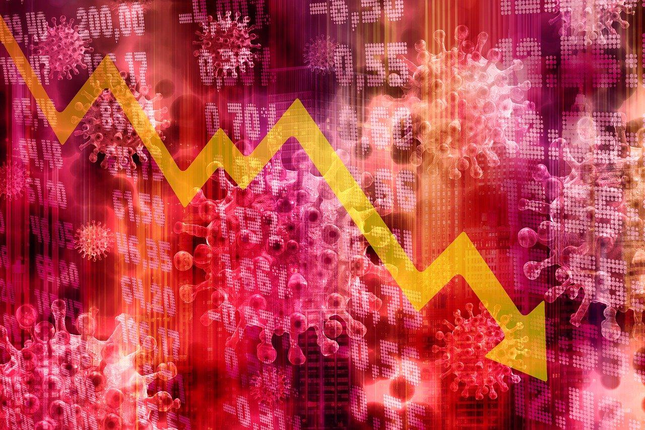 Stock market crash due to COVID-19 Coronavirus concerns