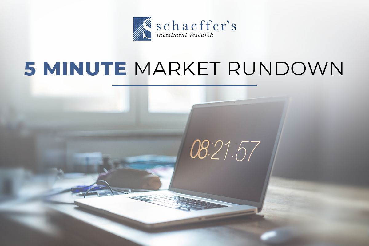 Schaeffer's 5 Minute Market Rundown Weekly Newsletter