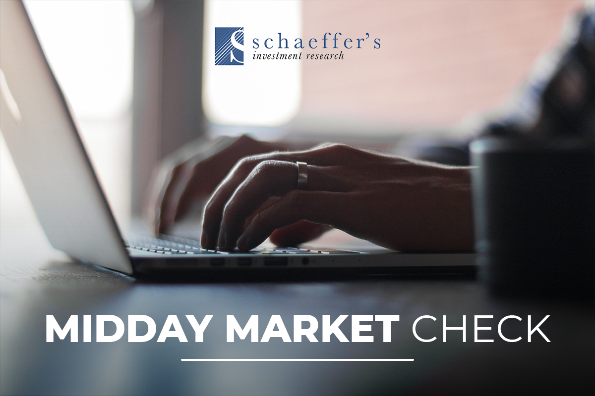 Schaeffer's Midday Market Check Daily Newsletter