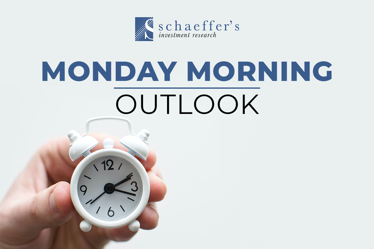 Schaeffer's Monday Morning Outlook Weekly Newsletter
