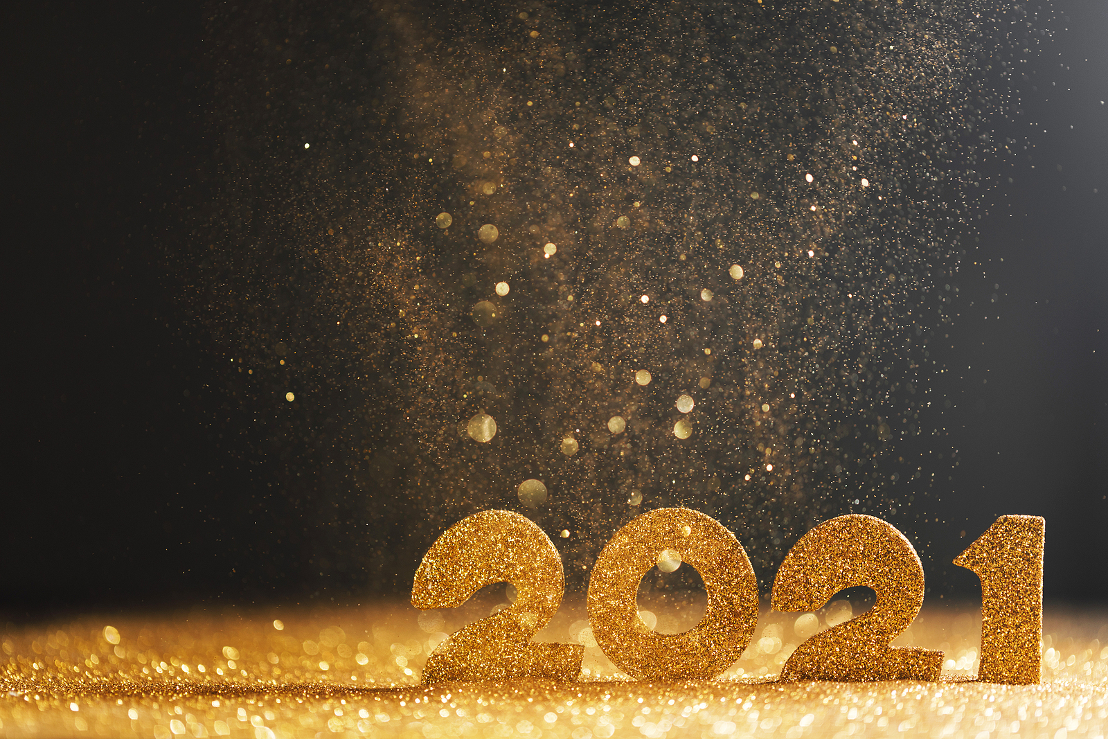 2021 New Year Plan and Glitter
