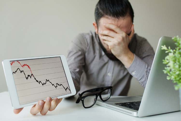 Traders distraught over market crash