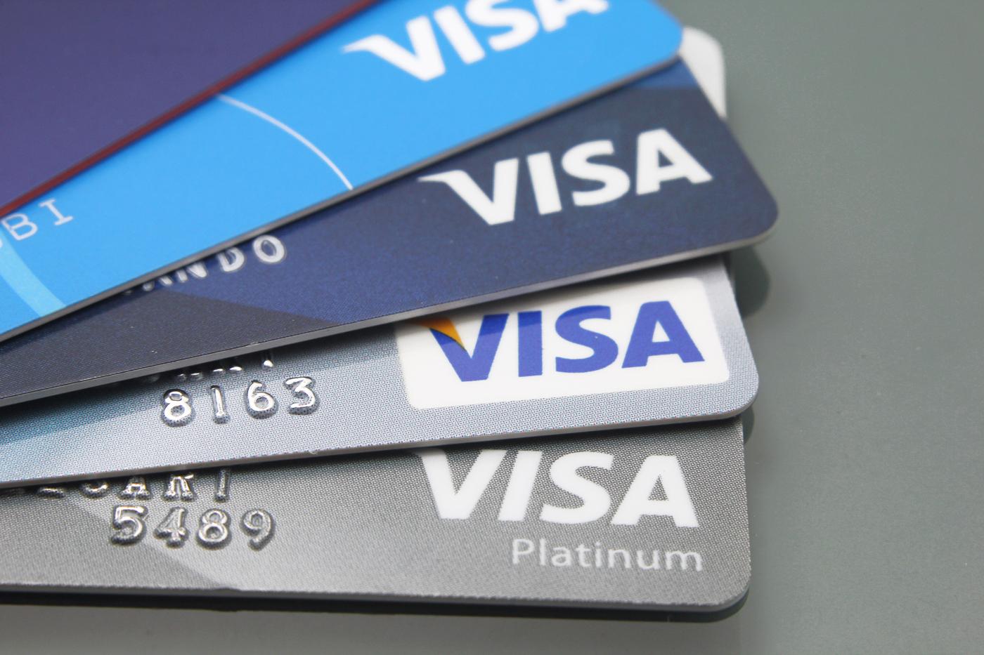 Visa Stock, V stock, Credit card stocks