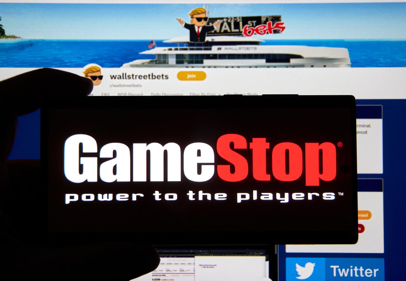 Gamestop stock, GME stock, WallStreetBets, Reddit traders, meme stocks