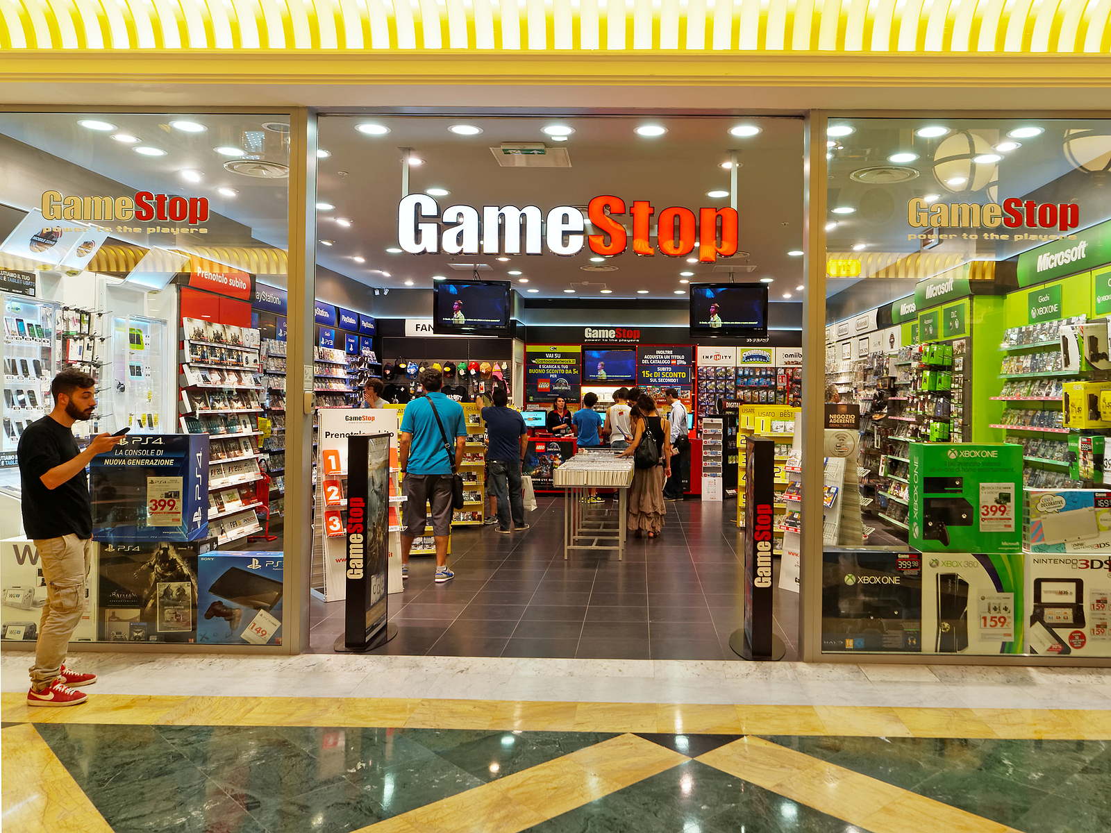 GameStop GME stock