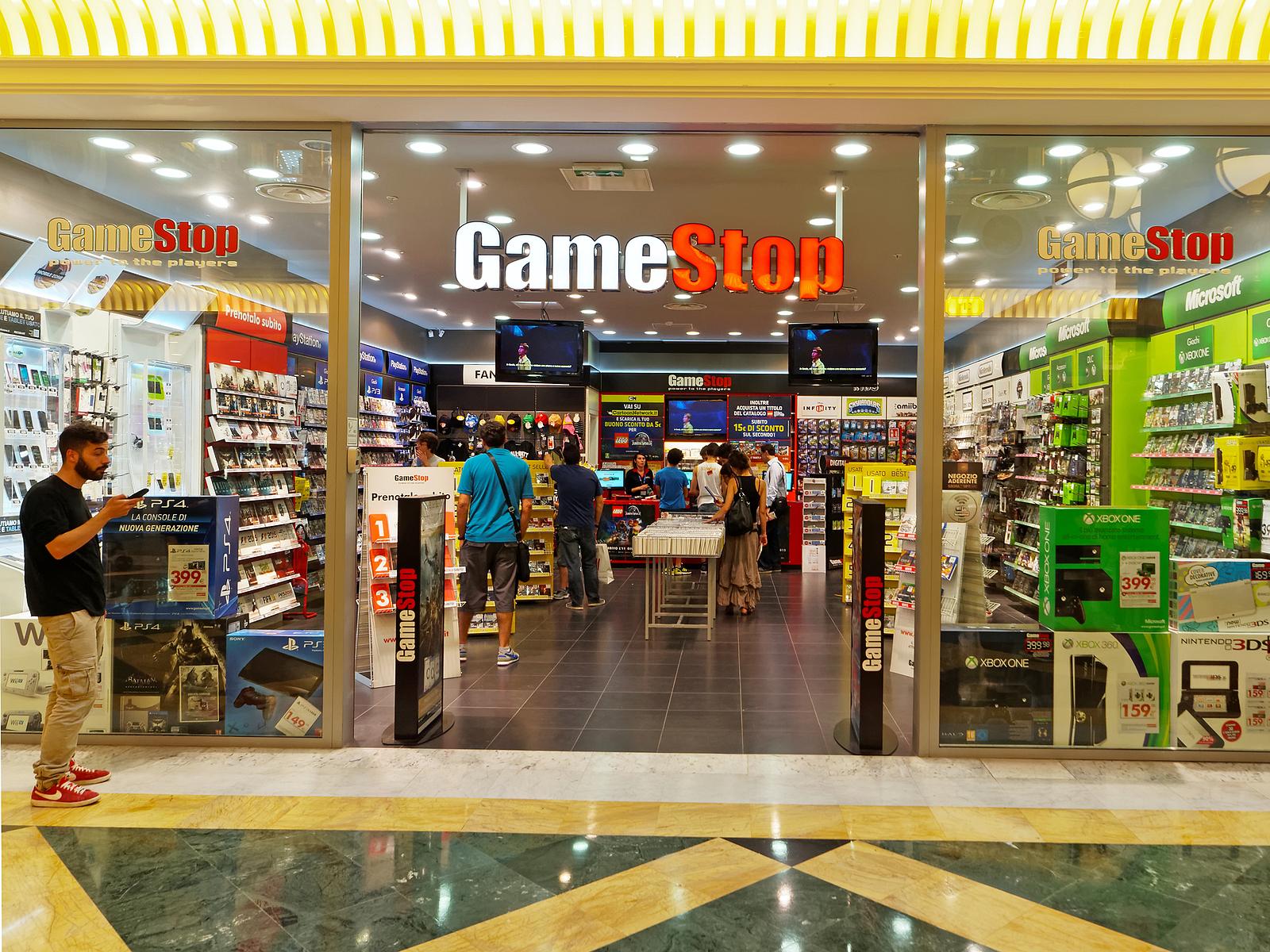 GameStop GME stock