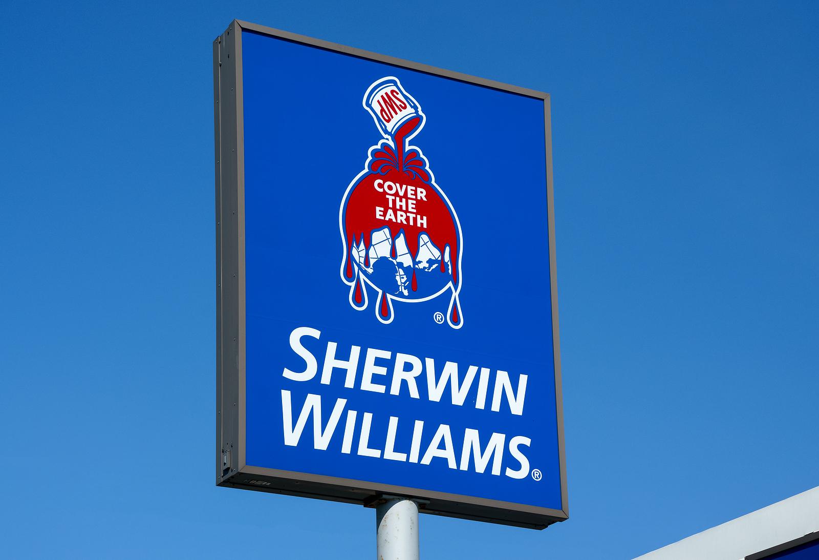 Sherwin Williams stock, SHW stock, SHW stock news