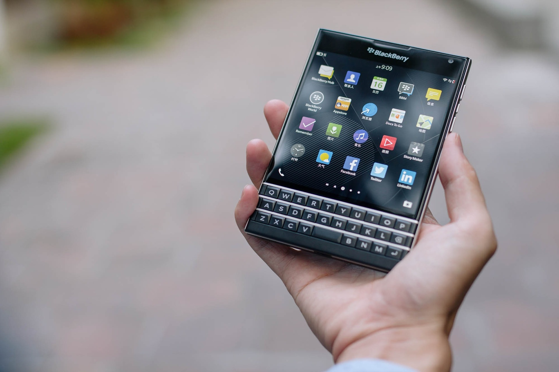 BLACKBERRY BB stock news and analysis