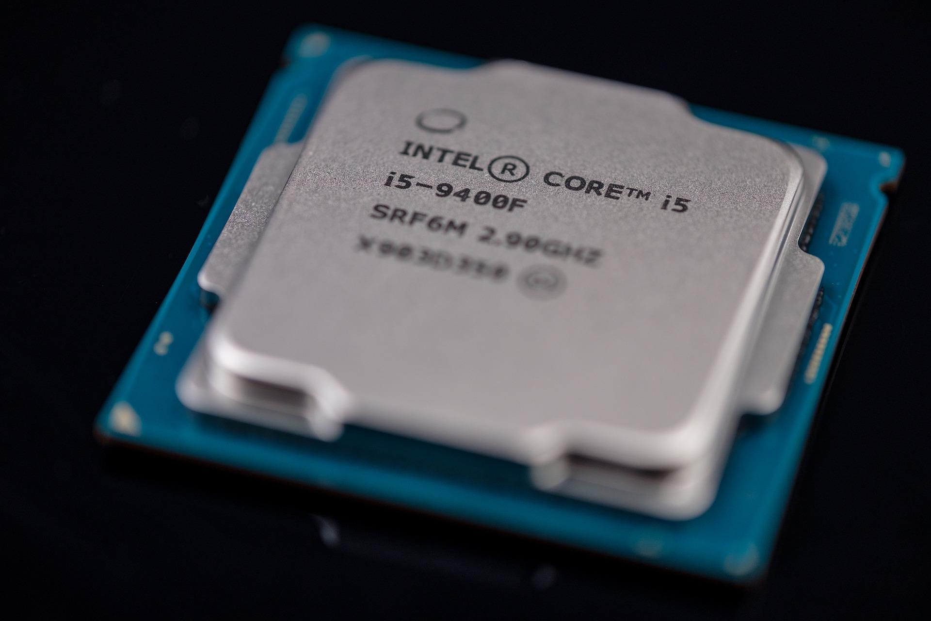 intel INTC chip photo logo