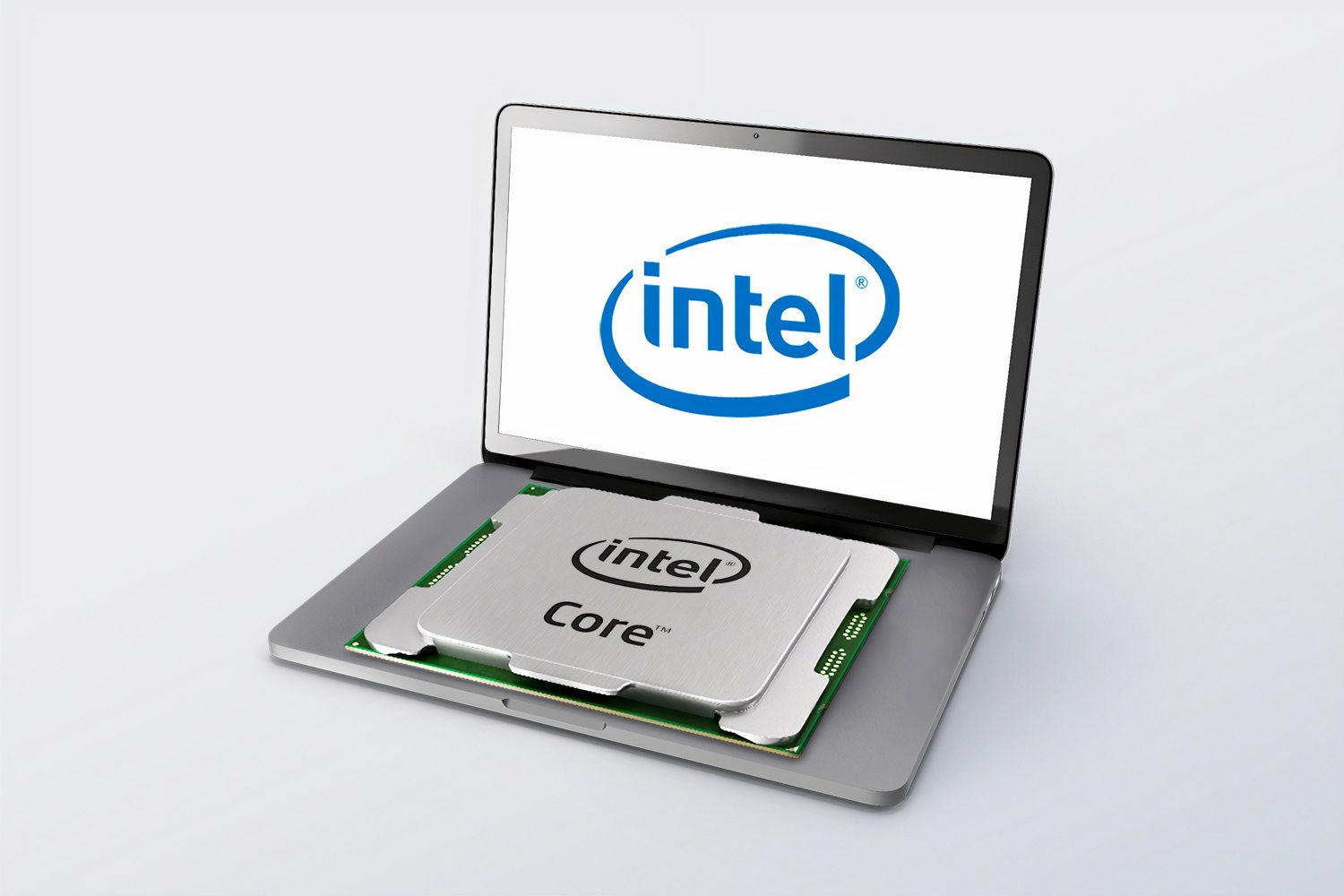 intel INTC chip photo logo