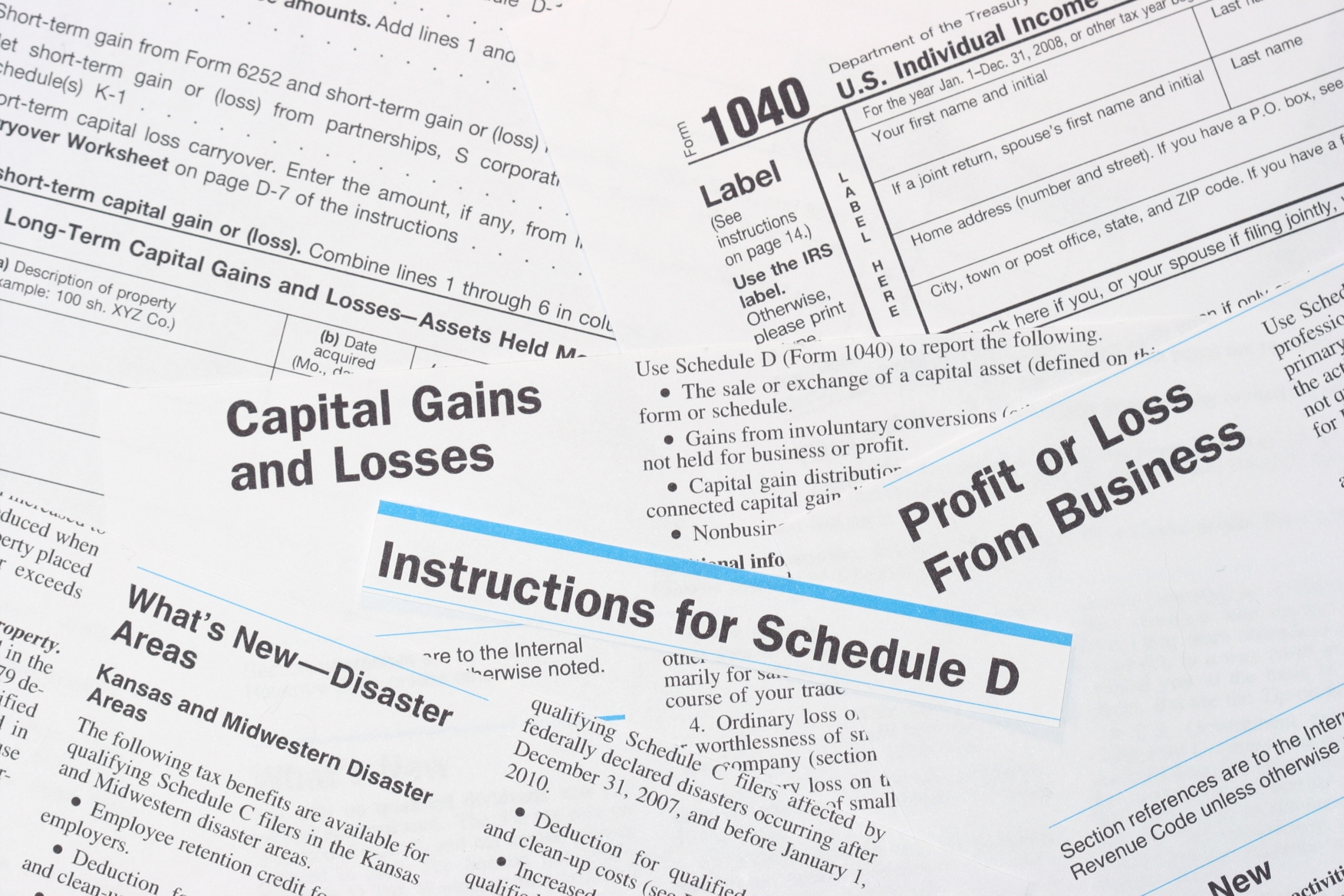 Taxes on trading, Capital gains tax, trading taxes, options tax, stocks tax