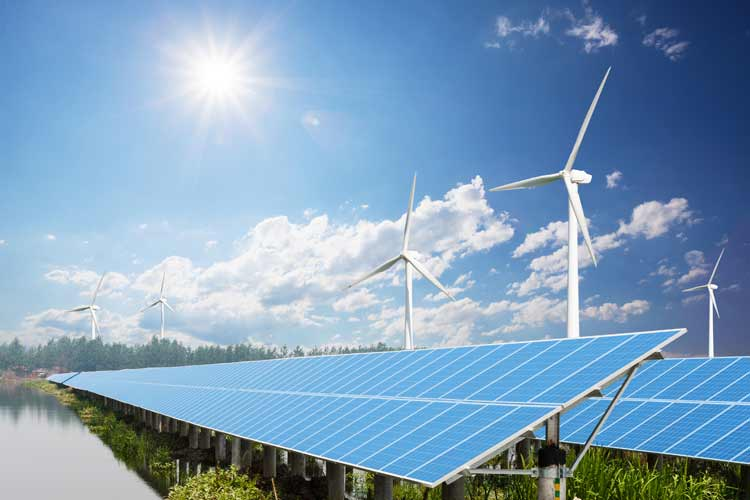 The alternative energy sector