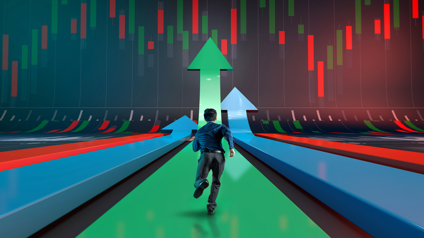 Bullish trader, betting on upside, bullish stock outlook