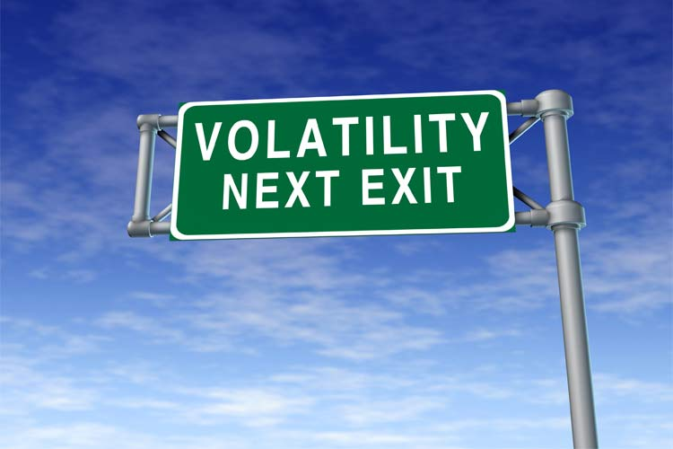 When volatility is low, you go